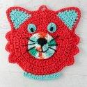 Crochet Cat Potholder