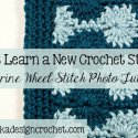 Crochet Catherine Wheel Stitch Tutorial