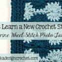 Crochet Catherine Wheel Stitch Tutorial