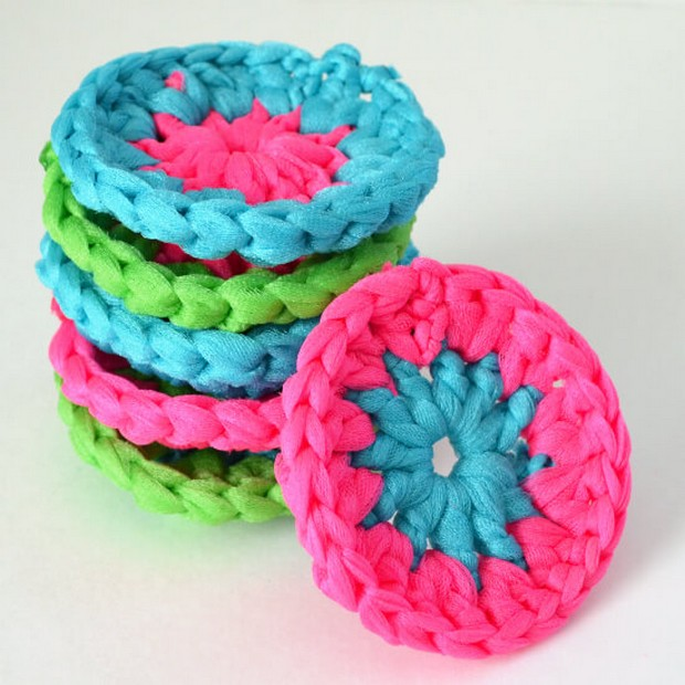 Fabulous Diy Crochet Pot Scrubbers Free Pattern And Photo Tutorial
