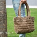 Crochet Star Stitch Tote