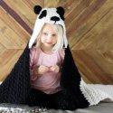 Crochet Panda Baby Afghan