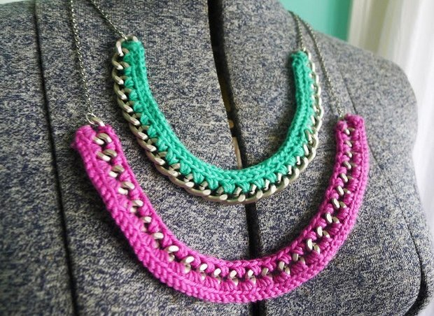 Beautiful Diy Crochet Necklace Free Pattern And Photo Tutorial