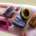 DIY Crochet Rings