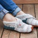 DIY Crochet Slippers