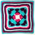 Crochet 12-Inch Afghan Square Tutorial