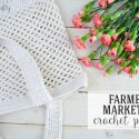Crochet Farmers Market Bag
