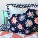 Crochet Hexagon Pillow