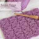 Crochet Side Saddle Stitch Video Tutorial