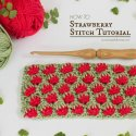Strawberry Stitch Crochet Tutorial