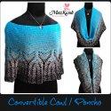 crochet cowl poncho