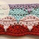 Crochet Clamshell Stitch Tutorial