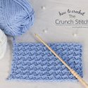 Crochet Crunch Stitch Tutorial