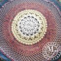 Crochet Mandala Throw