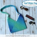 Crochet Striped Bag