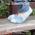 Easy Crochet Slippers