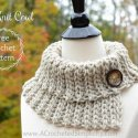 Knit-like Crochet Cowl