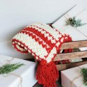 crochet holiday blanket easy free pattern