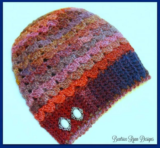 crochet slouch hat