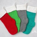 Crochet Christmas Stockings Free Pattern