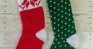Crochet Christmas Stockings Free Patterns
