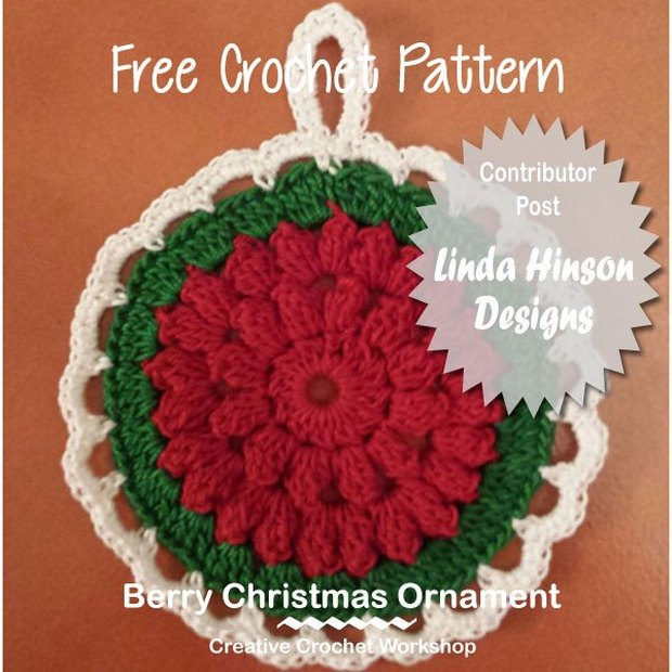 Crochet Christmas Tree Ornament