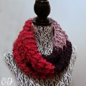 Crochet Colorblock Scarf Bulky