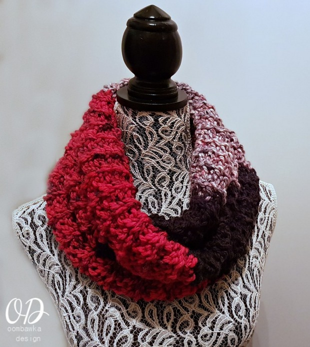 Free Crochet Pattern This Gorgeous Colorblock Scarf Is Amazingly