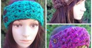 Crochet Headband Easy Pattern