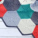 Crochet Hexagon Afghan