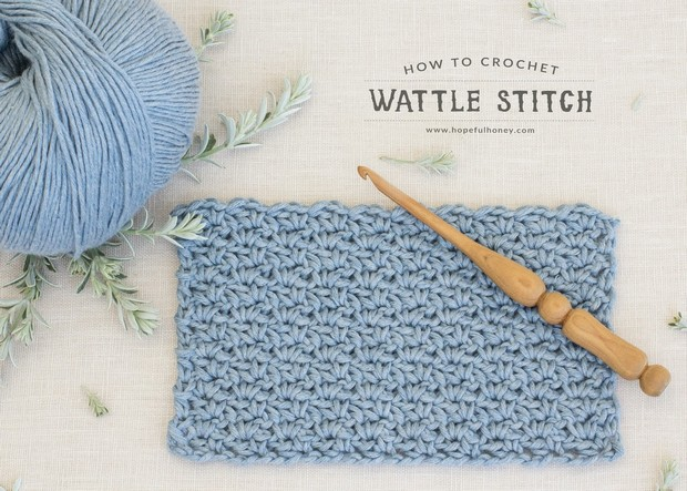 Crochet Wattle Stitch Tutorial