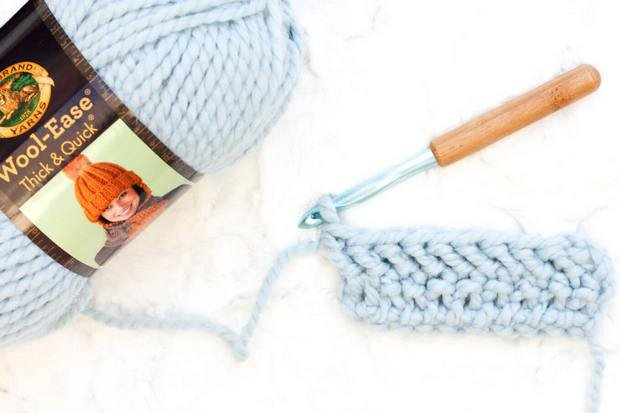 Herringbone Double Crochet Stitch Tutorial._1