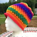 Multicolor Crochet Beanie Hat