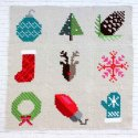 C2C Crochet Christmas Afghan Squares Patterns