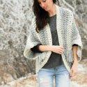 Crochet Blanket Sweater Easy Free Pattern