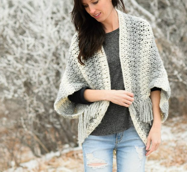 Crochet Blanket Sweater Easy Free Pattern