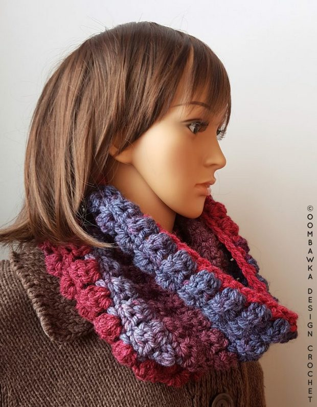 Free Pattern This Stylish Crochet Cowl Made With Chunky Yarn Is A