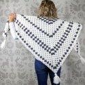 crochet granny stitch shawl free pattern