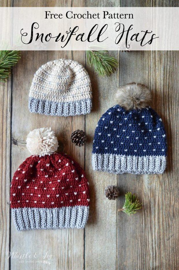 crochet hat all sizes free pattern