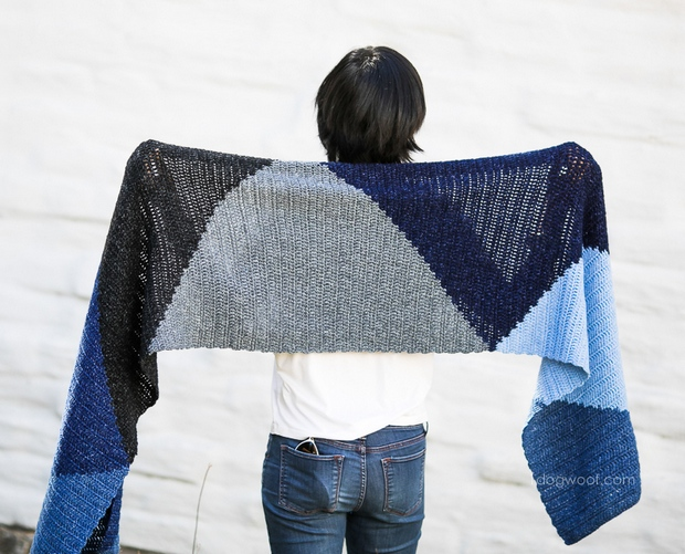 Free Pattern This Stylish And Versatile Crochet Wrap Is Super Easy