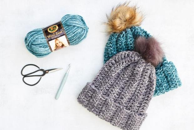Free Pattern Crochet This Knit Like Beanie Hat In Less Than 2 Hours