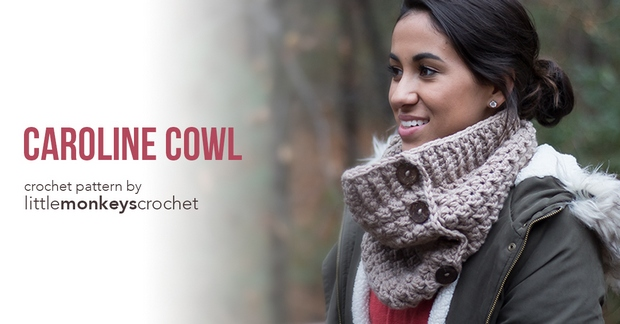 Crochet Chunky Cowl Free Pattern