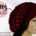 Crochet Slouch Hat Free Pattern all sizes