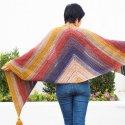 Crochet Wrap Lion Brand Mandala Easy Free Pattern