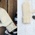 Knit-Like Crochet Waistcoat Stitch free video tutorial