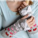 crochet arm warmers free pattern