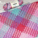 crochet color pooling free pattern tutorial