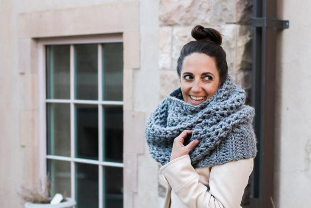 crochet cowl easy free pattern