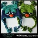 crochet owl hat free pattern