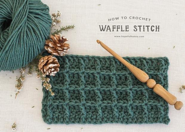7555c8f5d88  VIDEO Tutorial  Learn the Crochet Waffle Stitch Today — Perfect for  Blankets